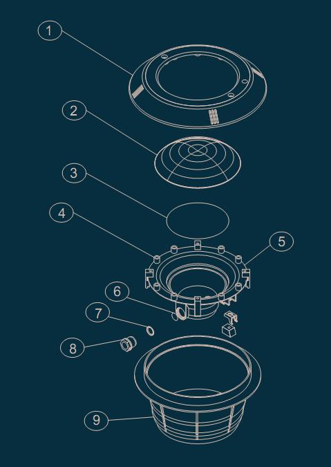 Pump Parts Diagram (030704 - 030712)